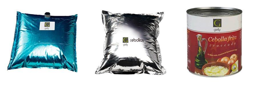 Gielly legumes sur mesure oignons aceptisés big bag conserve
